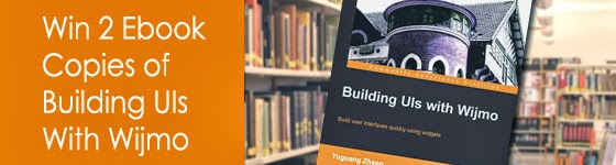 #Giveaway: Win 2 Ebook Copies of Building UIs With Wijmo