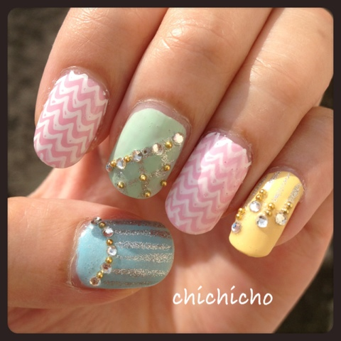 Snsd all my love is for you nails chichicho prinsesfo Image collections