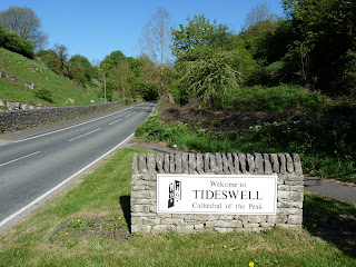 The outskirts of Tidewell. A short part of the walk I had to walk alongside a main road.