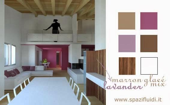 Come creare ambienti armoniosi con l uso del colore for Come costruire una villa