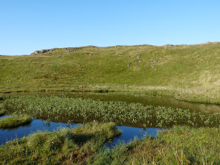 A tarn on High Rigg.