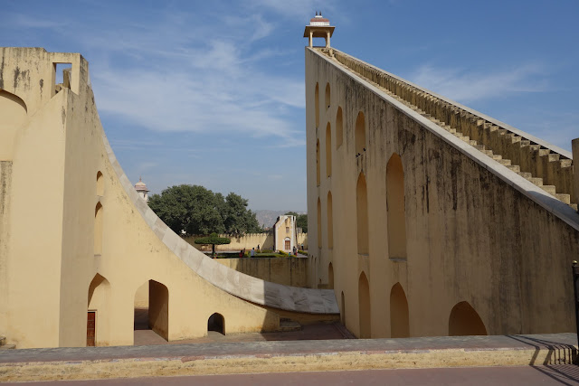 Samrat Yantra - the world's largest sundial.