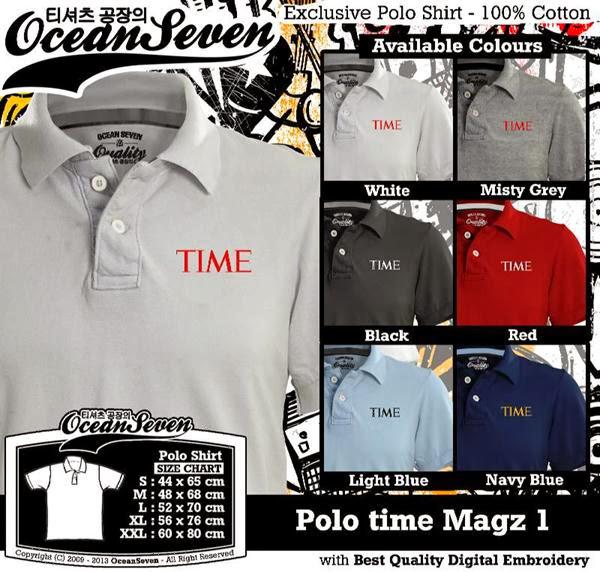 POLO time Logo distro ocean seven