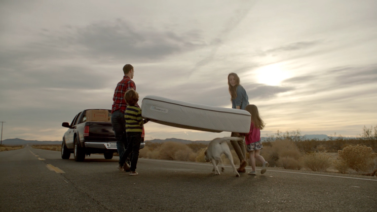 "The Emotional Life of Your Mattress — ""Life Before Your Eyes"" Sealy Spot"