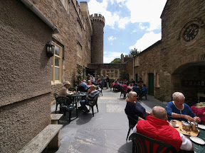Magnolia Tea Rooms Courtyard 