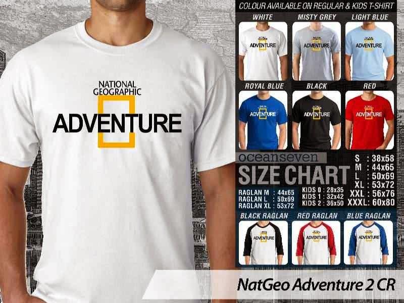 Kaos National Geographic NatGeo Adventure 2 distro ocean seven