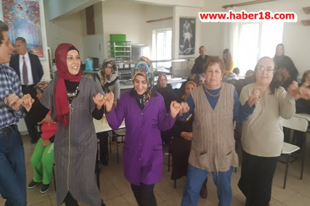 Bakırlı Köyü Kadınları Rehabilitasyonu Ziyaret Etti