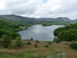 Grasmere with Silver How, Tarn Crag, Helm Crag and Stel Fell