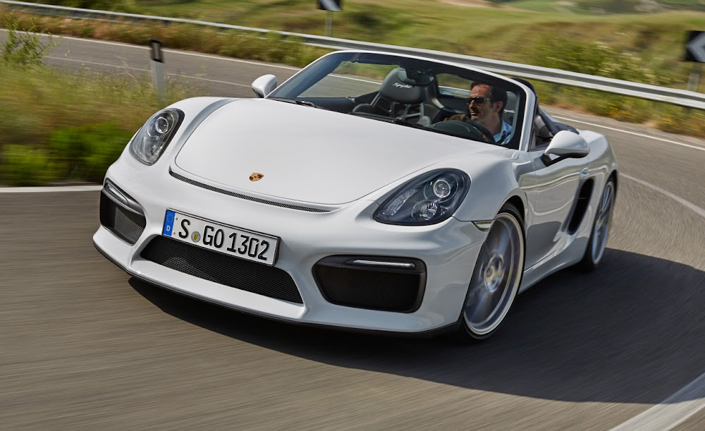2016 Porsche Boxster Spyder Review Car Price Concept