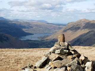 Ullswater from Hartsop Dodd Summit Cairn