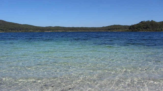 Lake McKenzie - this beautiful, clear lake is one of the island's most popular attractions.
