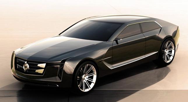 Designer Envisions New Cadillac C Ville Luxury Sedan Concept