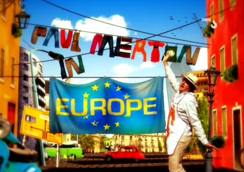 Paul Merton w Europie / Paul Merton In Europe (2010) PL.TVRip.XviD / Lektor PL