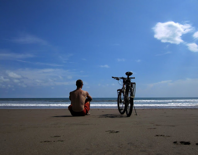 Contemplation on the Beach - Jaco, Costa Rica: May 2, 2012 - Mile 8500