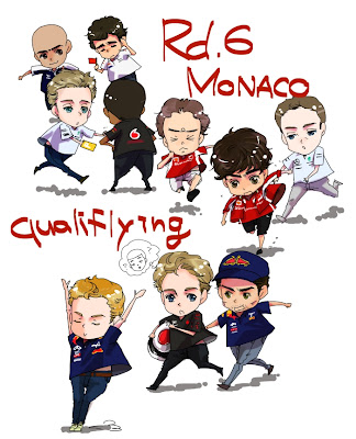 итоги квалификации на Гран-при Монако 2011 by fabada