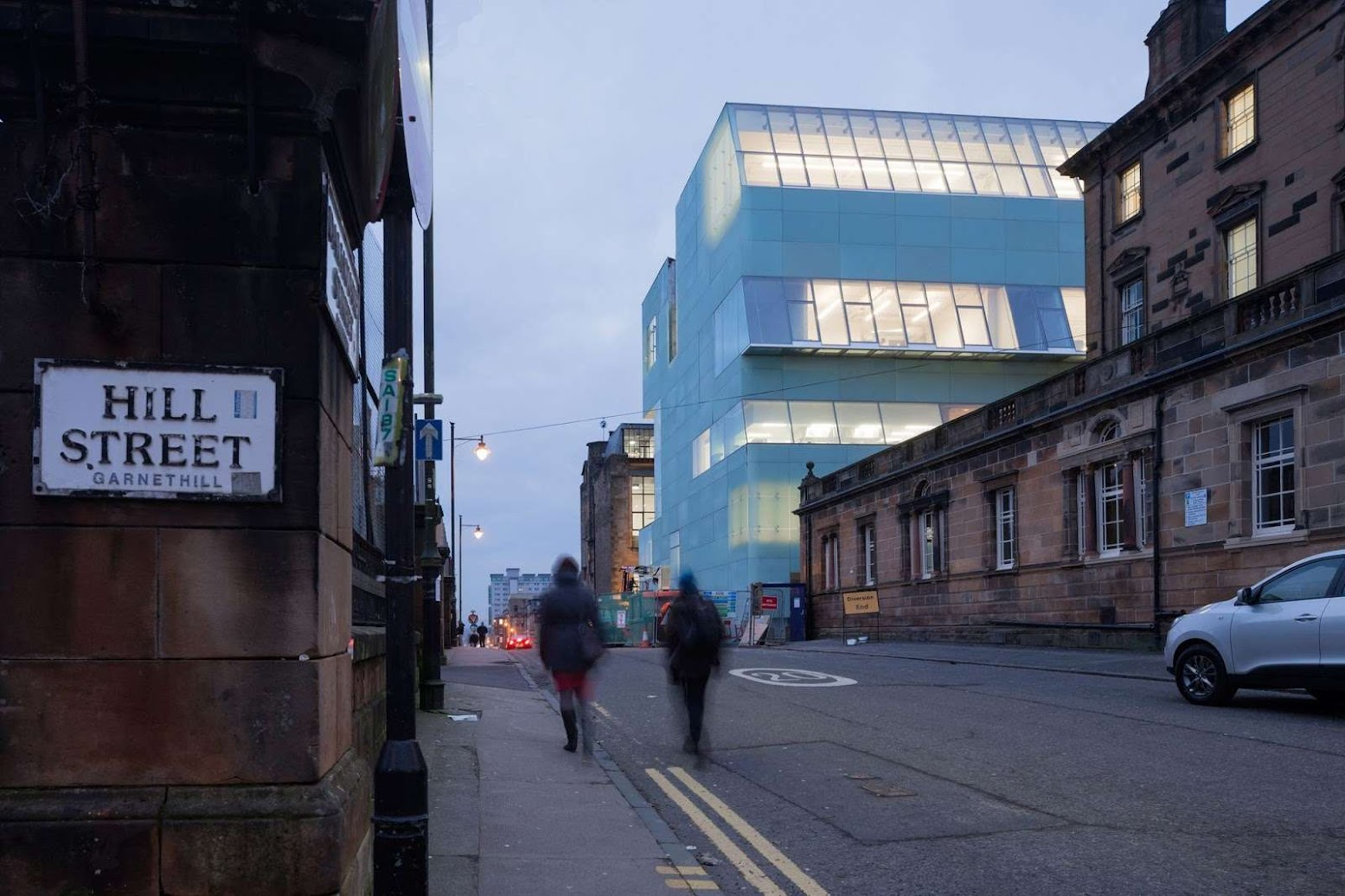 Glasgow, Città di Glasgow, Regno Unito: [REID BUILDING BY STEVEN HOLL ARCHITECTS]
