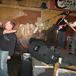 Our good friend Mark Ramsey was rocking the stage..Chriiis & Chad got a little dirty dancing in