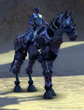 Лошадь в Rift