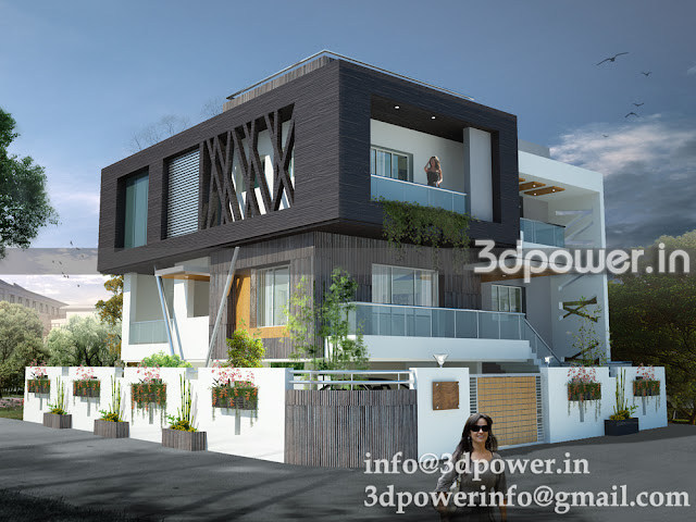 3D Contemporary Design Bungalow