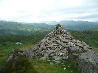 Ivy Crag Summit Cairn
