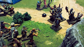 Assaulting the Grave Guard