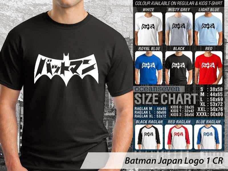 KAOS Batman Logo Manga distro ocean seven
