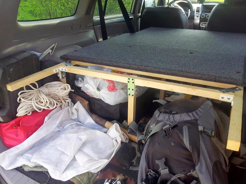 Спальное место в машине . - ВОЛОГДА 4x4