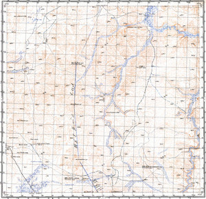 Catalog Of Maps Russian Army Maps For The World - Us government map of mongolia 1 500000