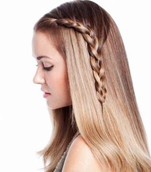 Peinados Para Pelo Liso Largo Faciles