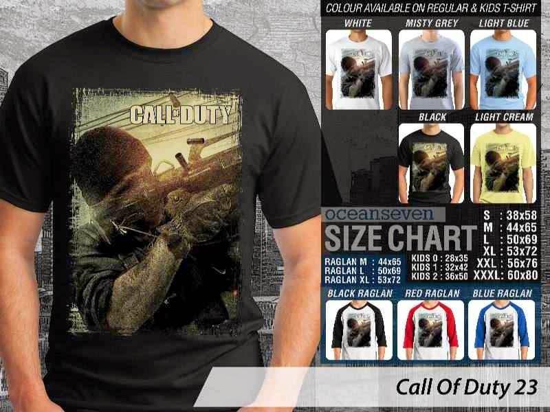 KAOS cod Call Of Duty 23 Game Series distro ocean seven