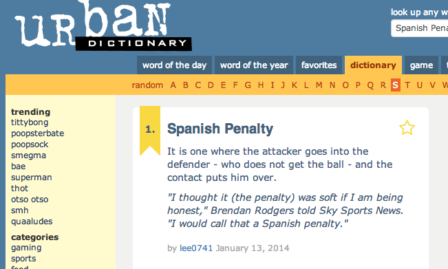 Screen+Shot+2014 01 13+at+15.49.52 A Spanish Penalty: What the hell did Brendan Rodgers mean after Liverpools win at Stoke?!