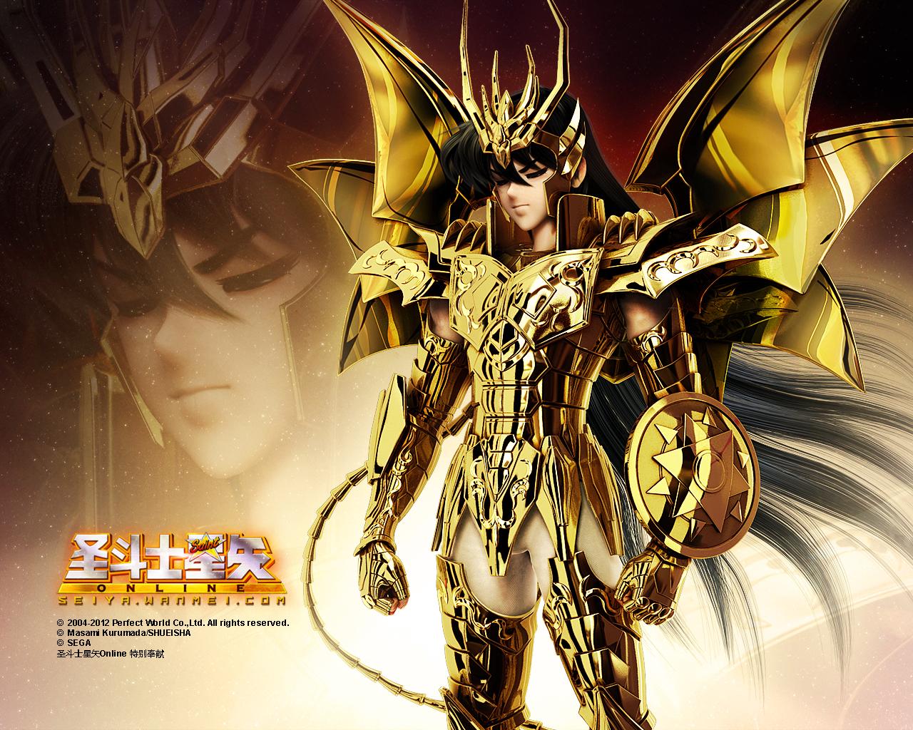 Ngắm hình nền thánh đấu sĩ Saint Seiya Online cực chất