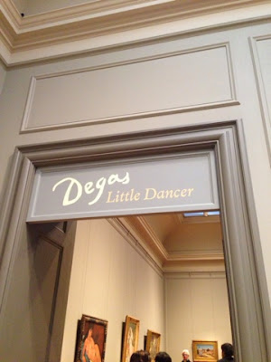 Degas exhibit, national gallery of art, NGA