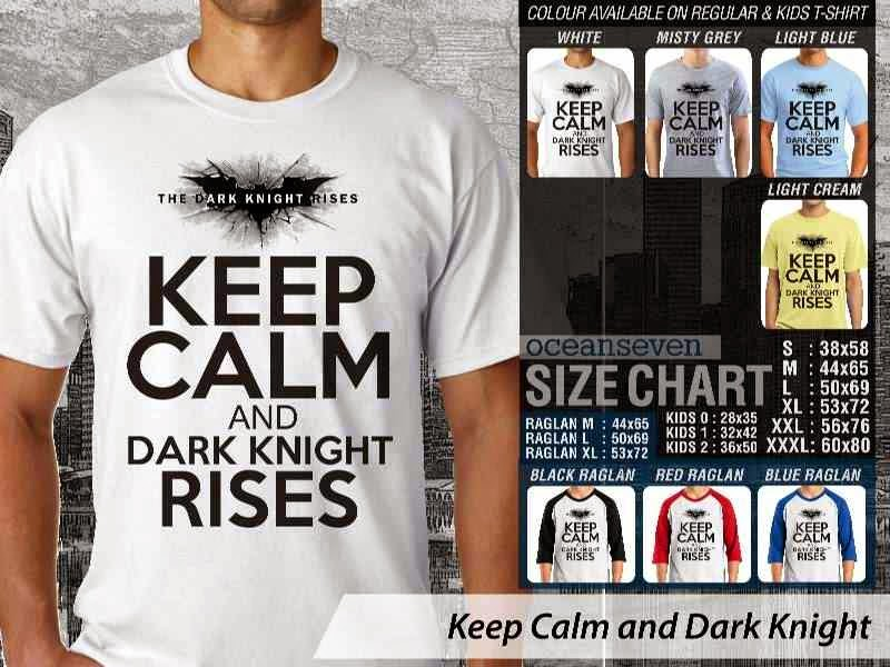 KAOS Keep Calm And Dark Knight Batman distro ocean seven