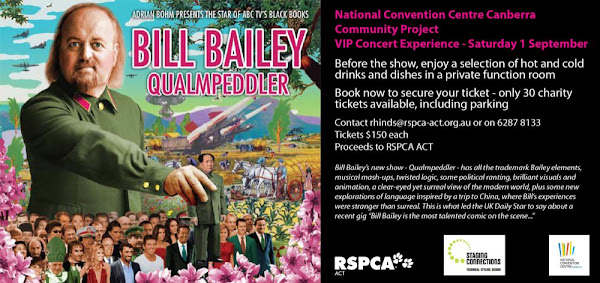 bill bailey poster