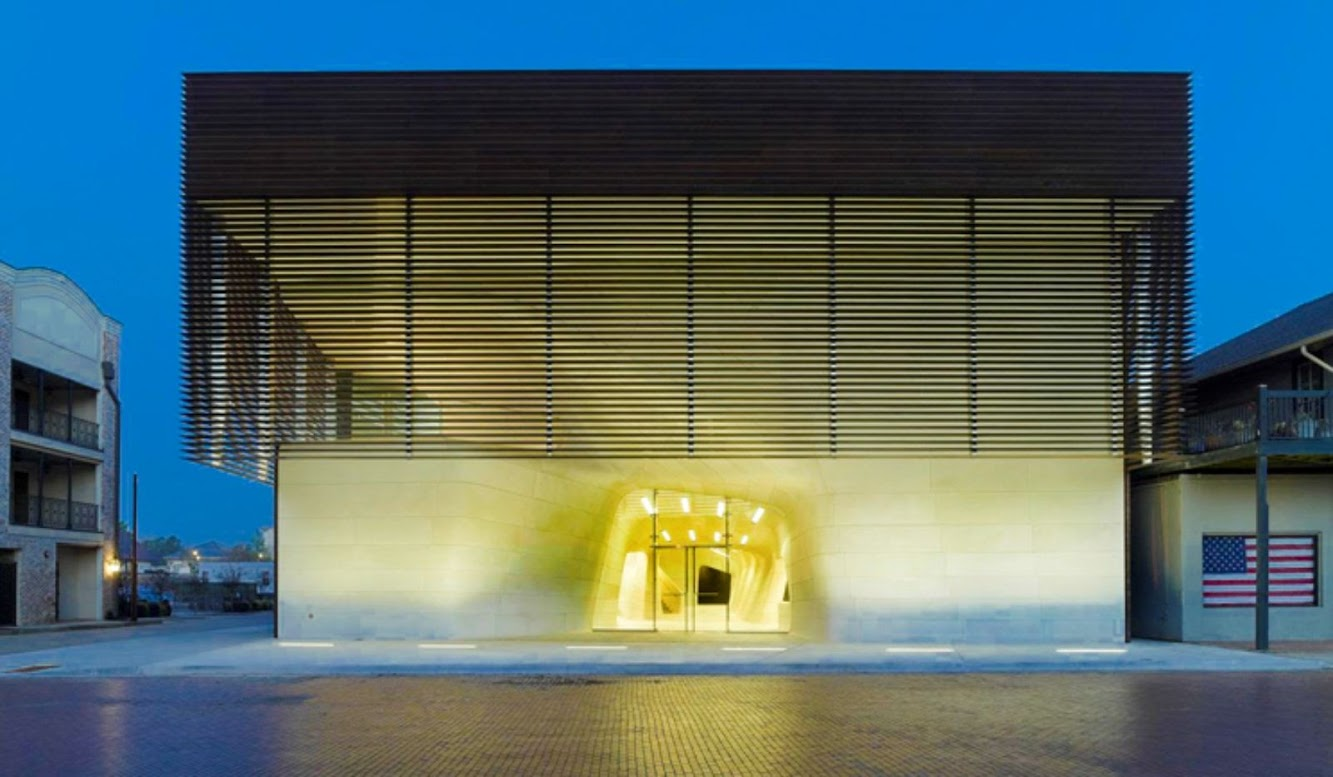 Natchitoches, Louisiana, Stati Uniti: Louisiana State Museum And Sports Hall of Fame by Trahan Architects
