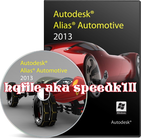 Autodesk Alias Automotive 2013 32bit 64bit-ISO