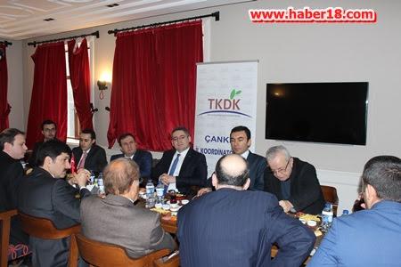 Tarım ve Kırsal Kalkınmayı Destekleme Kurumu (TKDK) Çankırı İl Koordinatörlüğü toplantı yaptı