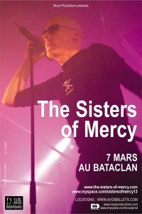 The Sisters Of Mercy + iLiKETRAiNS @ Le Bataclan, Paris 07/03/2009