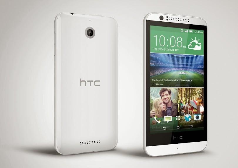 HTC Desire 510 - Spesifikasi Lengkap dan Harga