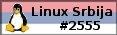 Linux мапа Србије