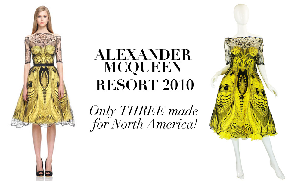 The Infamous Resort 2010 Alexander McQueen Dress