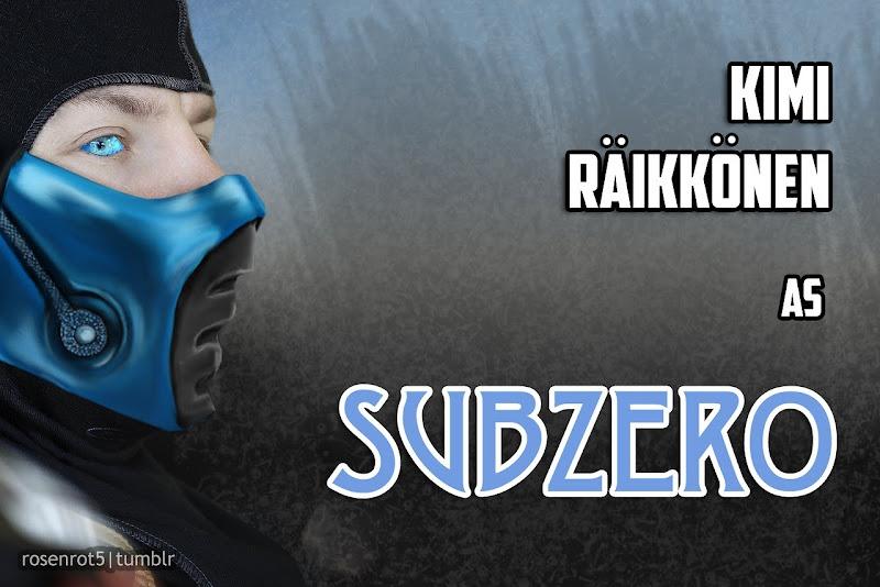 Кими Райкконен Саб-Зиро Subzero by rosenrot5