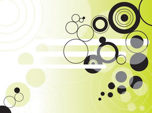 circles background - PowerPoint Background