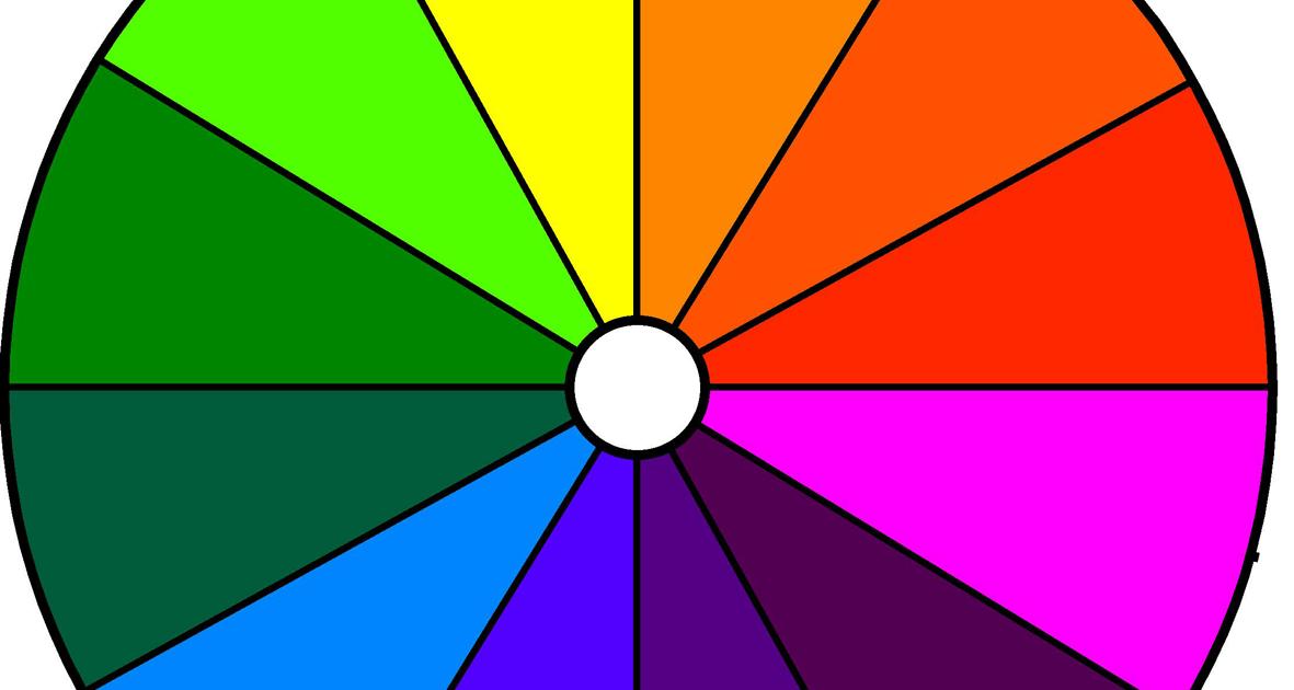 Fsn color theory o teor a de color - Circulo cromatico 12 colores ...
