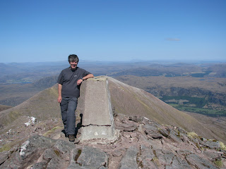 Me at the Summit of Bidein a Ghlas Thuill