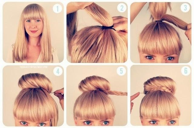 peinados faciles para ir al colegio. trendy with peinados faciles