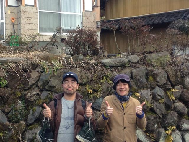 ミヤジ氏とマエガキさん