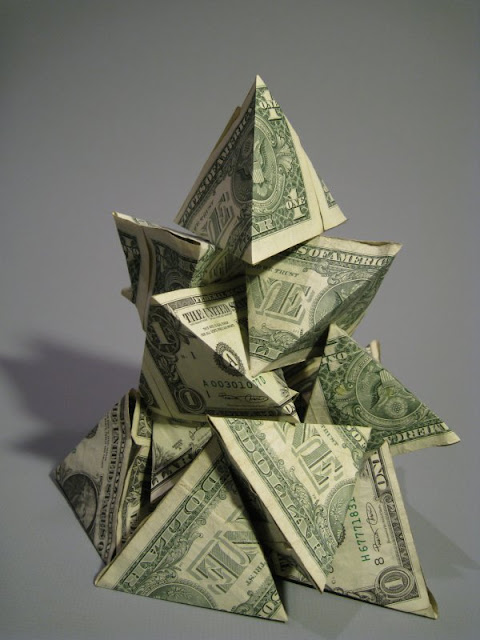 Money Sculptures Seen On www.coolpicturegallery.us