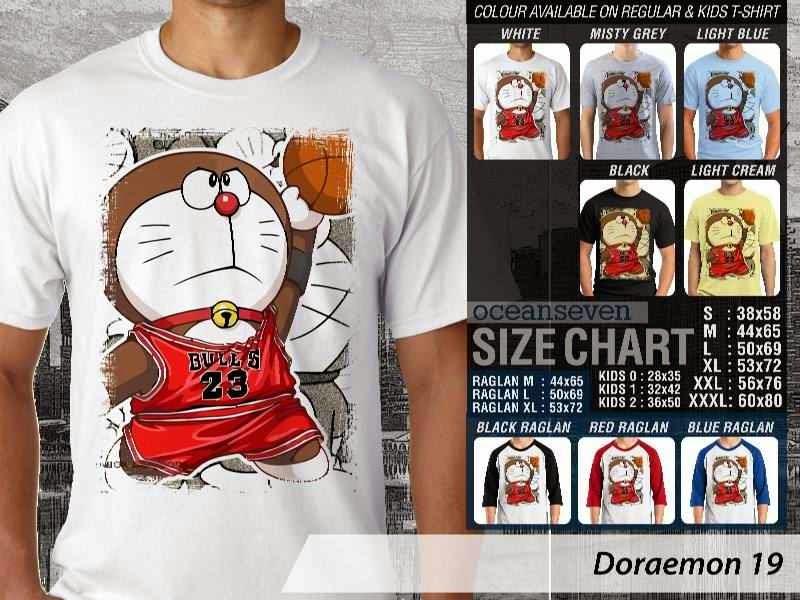 KAOS Doraemon 19 Manga Lucu distro ocean seven